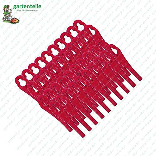 40 Kunststoffmesser, passend für Florabest Akku Rasentrimmer FAT 18 B3 - LIDL IAN 273039