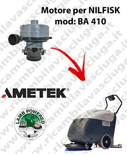 Ba 410Motor Ansaugkrümmer Lamb Ametek für Bodenwischer Nilfisk