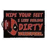 Deadpool Marvel Wipe Your Feet Door Mat 40 x 60 x 1.3cm