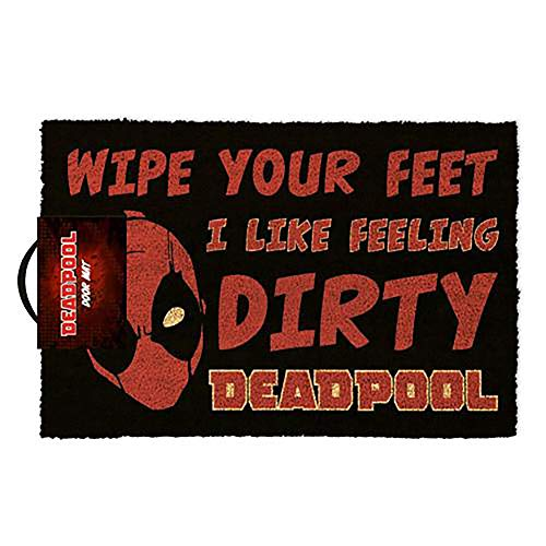 funny deadpool doormat gift