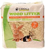 Croci R4AS0000 Wood Litter - Yacija Natural para Animales Domesticos,...