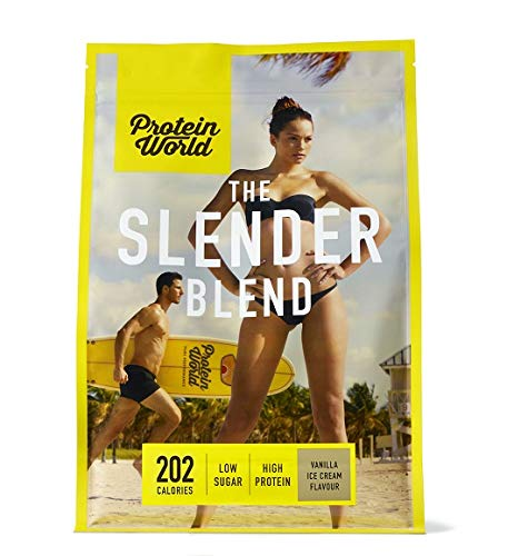 Protein World - The Slender Blend Weight Loss Meal Replacement Shake - Vanilla SLEN-VANI- 600g