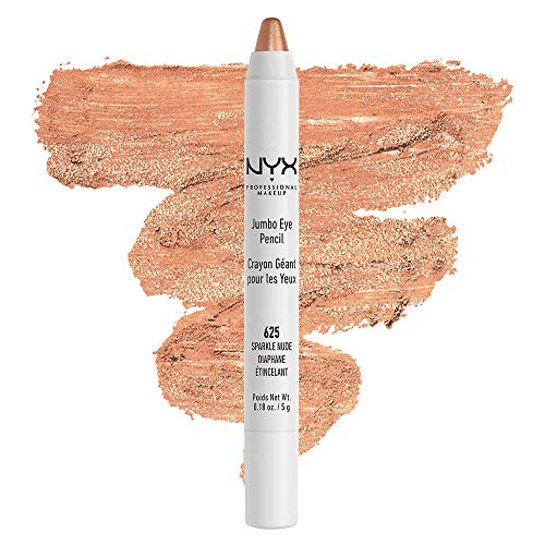 NYX PROFESSIONAL MAKEUP Jumbo Eyeliner Pencil - Sparkle Nude, Light Gold With Slight Glitter