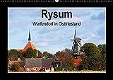 Rysum - Warfendorf in Ostfriesland (Wandkalender 2017 DIN A2 quer): In dreizehn fantastischen Fotos zeigt der Fotograf Rolf Pötsch Bilder aus dem ... (Monatskalender, 14 Seiten ) (CALVENDO Orte)