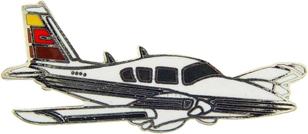 Piper Aztec Civilian Aircraft Airplane or Pin Lapel Finally popular brand Max 90% OFF Hat
