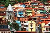 KCHUEAN 1000 Teile Puzzles Rätsel Für Erwachsene Georgien Tiflis Dekoration Für Das Heimenspiel Lernspielzeug Für Kinder Und Erwachsene