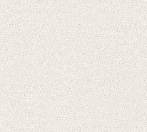 A.S. Création Vliestapete Elegance Tapete Unitapete 10,05 m x 0,53 m creme weiß Made in Germany 304863 30486-3