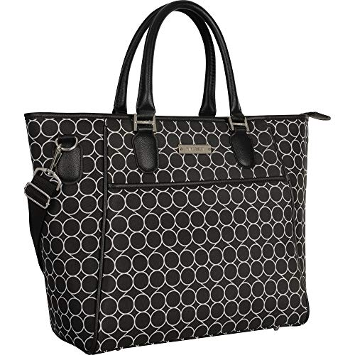 Ninewest Tote, Black/White, One Size