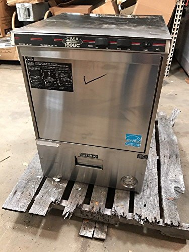 Cma Cma-180UC Dishwasher, Undercounter, 30 Racks per Hour, High Temp, External S