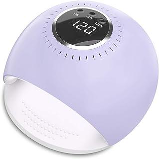 Lámpara LED UV Uñas - 84W Secador de Uñas con 5 segundos de secado rapido y Sensor Automático para manicura/pedicura de es...