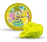 CRAZE Magic Dough Inteligente Que Brilla Arcilla 80g piña Amarilla en estaño Que Brillan en la Oscuridad Noctilucent 12857