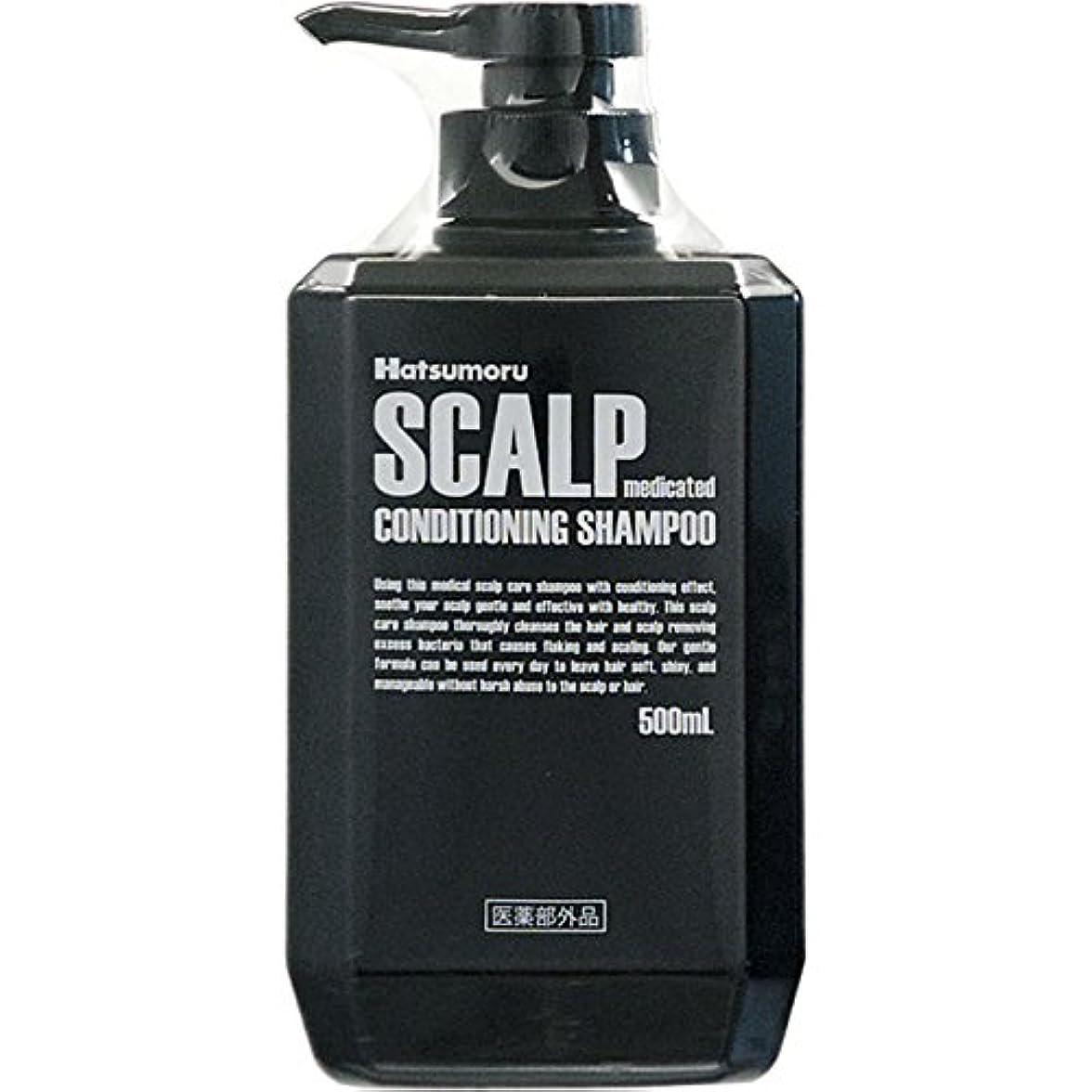 メイド浸すとげハツモール 薬用スカルプシャンプー500MLx4