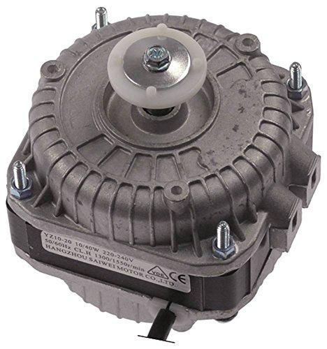 HANGZOU SAIWEI MOTOR YZ10-20 Lüftermotor für Kühlgerät Horeca-Select GGC1270 220-240V 10W 1300U/min 50/60Hz Breite 84mm