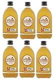 VITAE KOMBUCHA–KIT de 6 Botellas Té Kombucha BIO– Envío en Frío – Sabor Mango y Fresa -con Agua Volcánica-Té Kombutxa con Frutas Maceradas - 500 ml