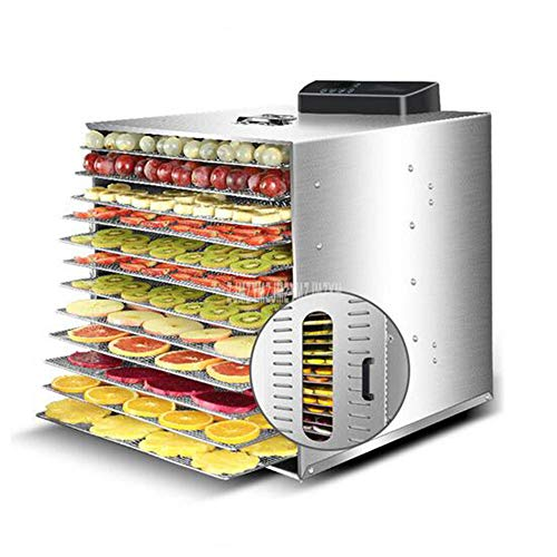 Why Should You Buy 12 Layer 1000W Stainless Steel Food Dehydrator Fruit Vegetabl Drying Machine Snac...