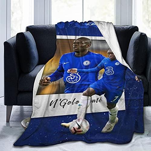 Chelsea (102) Manta de lana súper suave, adecuada para sofá cama y camping