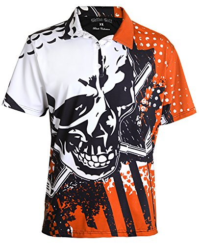 Crazy Golf Shirt - The Blade Performance Polo M - Orange