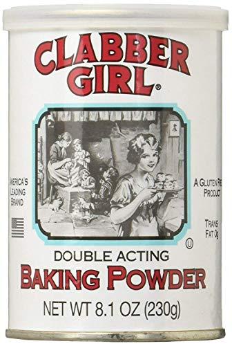 Clabber Girl Baking Powder - 8.1 oz can (3)