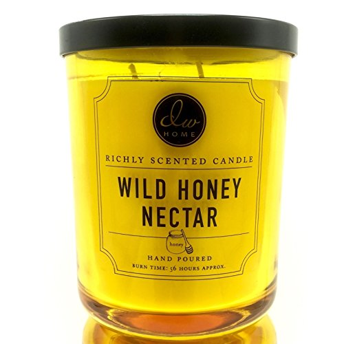 DW Home Wild Honey Nectar 15.48 oz. Candle in Glass jar