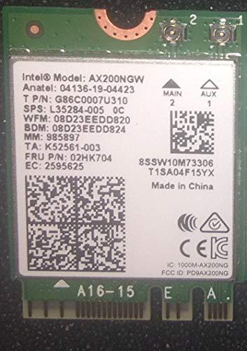 Adaptador WLAN Intel Wi-Fi 6 AX200 M.2 vPro