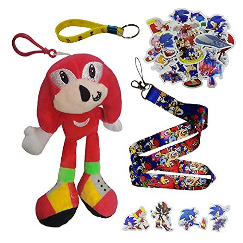 Sonic Aufkleber Sonic the Hedgehog 2 Sonic Boy Überschallmaus Soni Na Cruz Shater Plüschtierpuppe