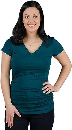 032c7cf7aaa Momzelle Women's Breastfeeding & Maternity Vanessa Nursing T-Shirt