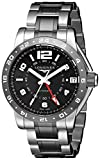 Longines Hombre l36694567Admiral Pantalla analógica Swiss Plateado Reloj Automático por Longines