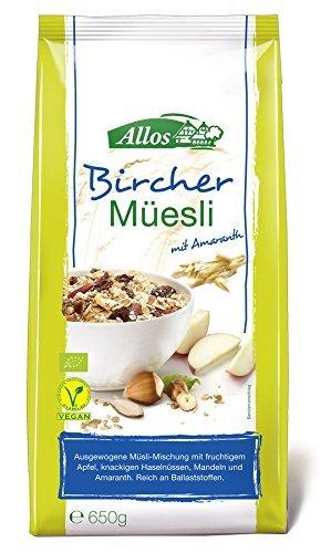 Allos Bio Hof-Müsli Bircher, 650 g