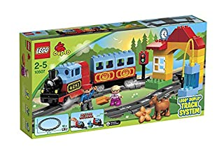 LEGO Duplo 10507 - Eisenbahn Starter Set, Zug Spielzeug (B00B06XU82) | Amazon price tracker / tracking, Amazon price history charts, Amazon price watches, Amazon price drop alerts