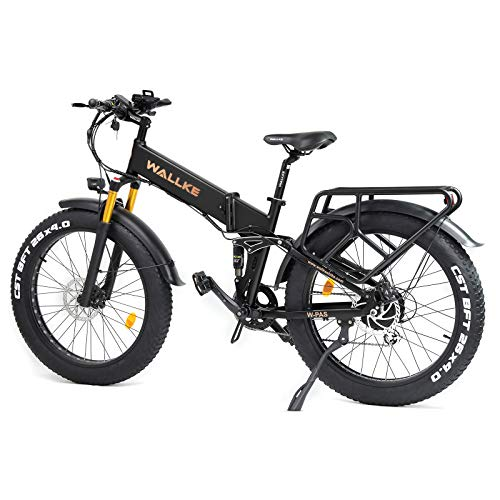 W Wallke X3 Pro26-inch Upgrade The Frame Fat Tire Electric Bicycle