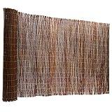 Certeo Weidenzaun   Weidenmatte   Natürlicher Sichtschutz   HxL 200 x 500 cm   Platzmatte Tischmatte Matte