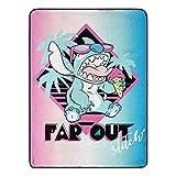 Lilo & Stitch, 'Far Out Stitch Micro Raschel Throw Blanket