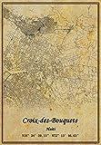 Haiti Croix-des-Bouquets Wandkunst-Poster auf Leinwand,