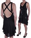 Diesel - Vestido - Noche - para mujer Vallart Seda Negro (Large)