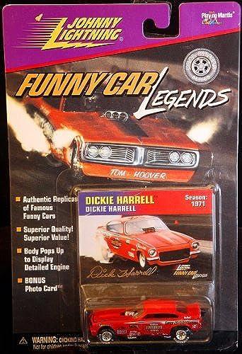 todos los bienes son especiales Johnny Lightning - Funny Car Legends -Dickie Harrell - Season Season Season  1971 by Johnny Lightning  oferta de tienda