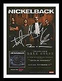 Nickelback Autogramme Signiert Und Gerahmt Foto