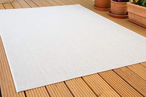 In- und Outdoor Teppich Halland Sisal Optik, Webteppich, in Beige-schwarz, GUT Siegel Zertifiziert, Größe: 200x290 cm
