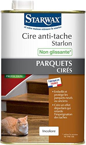 STARWAX Cire Antitache Starlon Incolore 1L