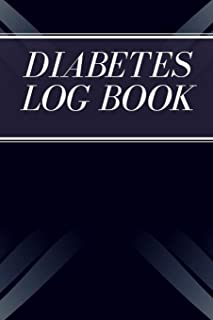 Diabetes Log Book: Daily Record Book for Monitoring Blood Sugar Level (Up to 106 Weeks/ 2 Years) | Diabetic Glucose Health...