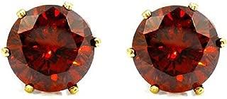 Best maroon earrings studs Reviews