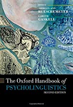 Best the oxford handbook of psycholinguistics Reviews