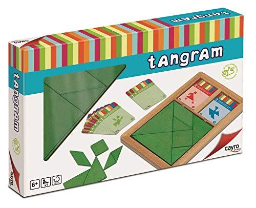 Cayro 852 - Kids Tangram Madera Infantil (+6 Años)