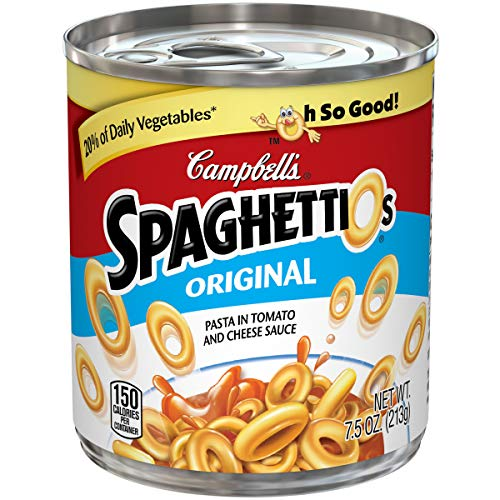 Campbell's SpaghettiOsCanned Pasta, Original, 7.5 oz. Can (Pack of 24)