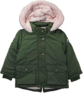 Carters Little Girls Olive Green /& Pink Outerwear Coat