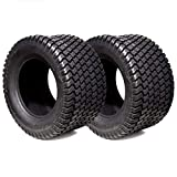 2PK 18X6.50-8 18X650-8 18/6.50-8 18X6.50X8 4PLY Rated Tubeless Riding Lawn Mower Tractor Tires Fits Turf Trac