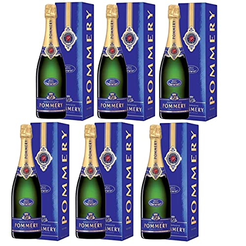 POMMERY Brut Royal 6x 750ml - Champagne AOC - BOX - IT
