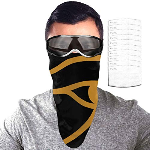 Alan Parsons Project Bandana Balaclava Reusable Washable Neck Warmer Winter Dust Wind Gaiter Scarf Headgear Multiuse For Men Women With 10 Filter One Size
