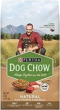 Purina Dog Chow Natural, High Protein Dry Dog Food, Natural - 4 lb. Bag