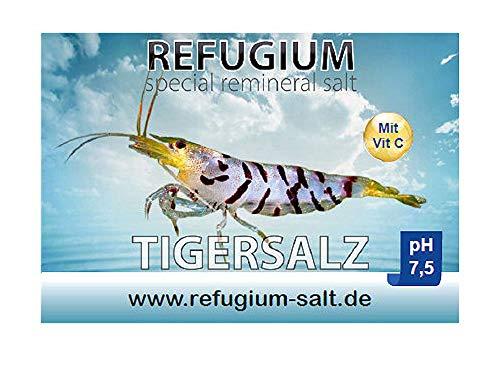 REFUGIUM Spezial ReMineral Tigersalz pH 7.5 - Garnelensalz für Osmosewasser, 1000 g