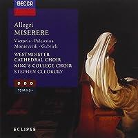 Allegri: Miserere by Cleobury (1996-03-04)